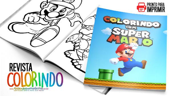 Capa de Revista Mario Bros