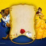 Convite A Bela e a Fera