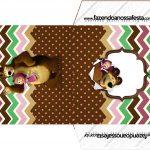 Envelope CD DVD Masha e o Urso Kit