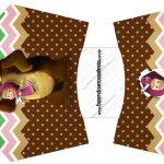 Envelope Fritas Masha e o Urso Kit