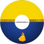 Etiqueta CD DVD A Bela e a Fera
