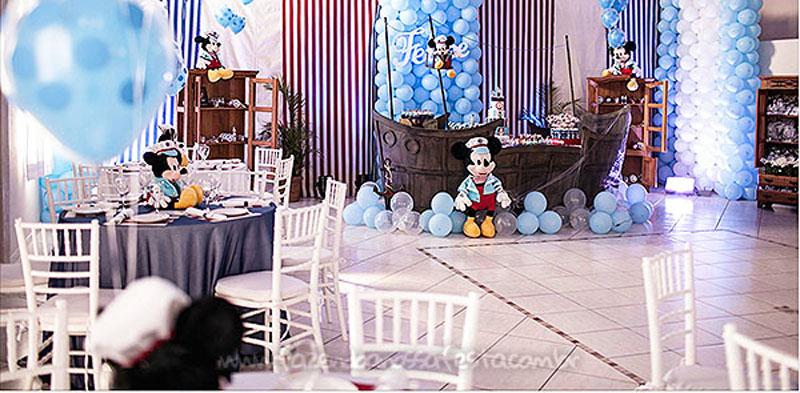 Festa Infantil Mickey Marinheiro do Felipe 2