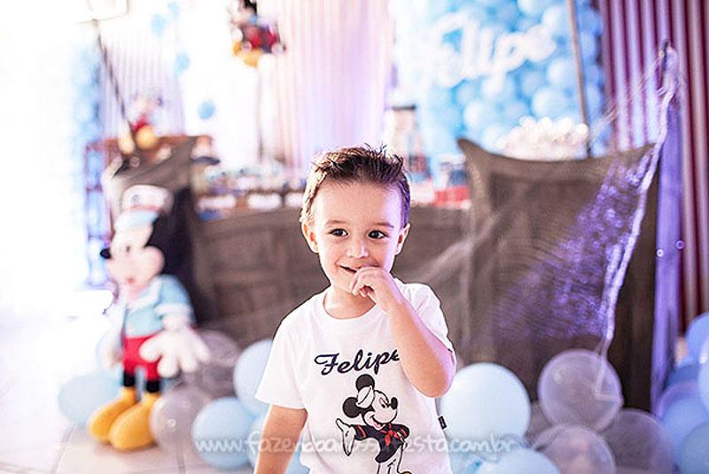 Festa Infantil Mickey Marinheiro do Felipe 3