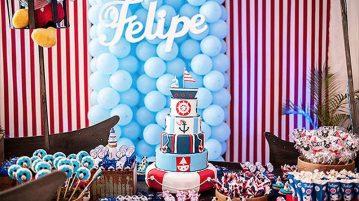 Festa Mickey Marinheiro do Felipe 5 Modelo