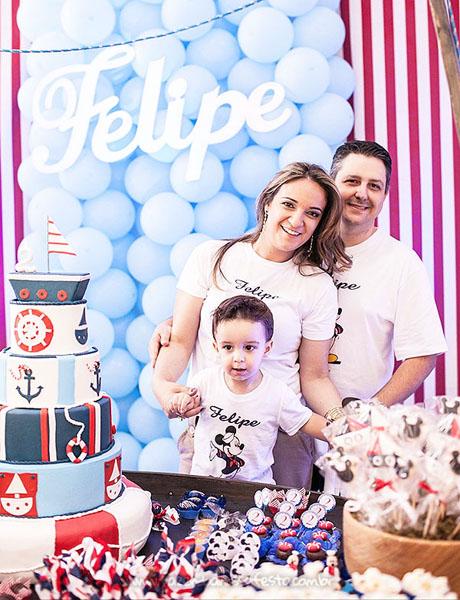 Festa Infantil Mickey Marinheiro do Felipe