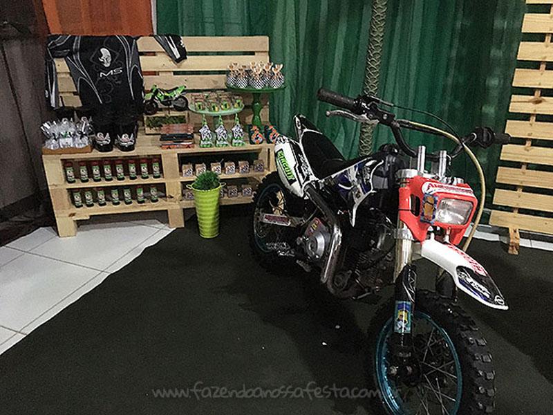 Ideias para Festa Motocross 22