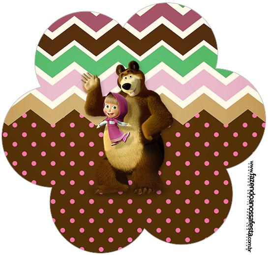 Flor Masha e o Urso Kit