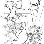 Livrinho de Colorir Masha e o Urso 13