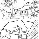 Livrinho de Colorir Masha e o Urso 17