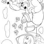 Livrinho de Colorir Masha e o Urso 20