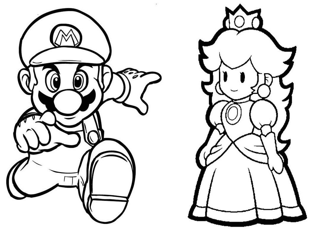 Livrinho para Colorir Mario Bros - 1