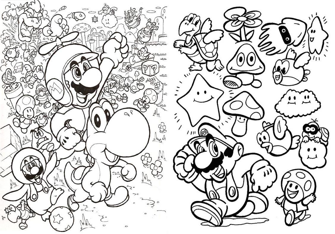 Livrinho para Colorir Mario Bros - 4