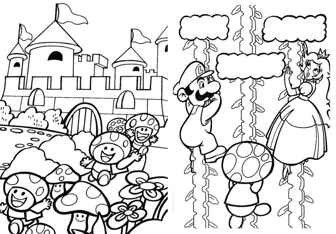 Livrinho para Colorir Mario Bros - 5