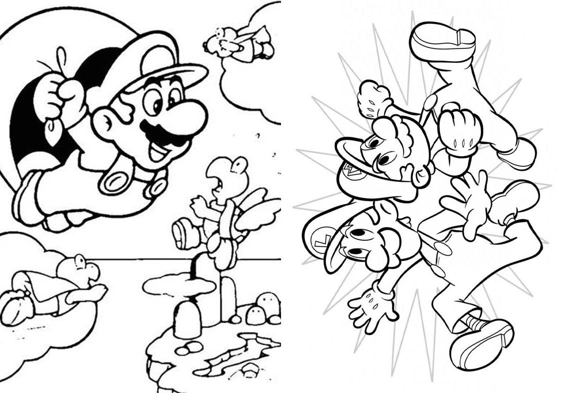 Livrinho para Colorir Mario Bros - 6