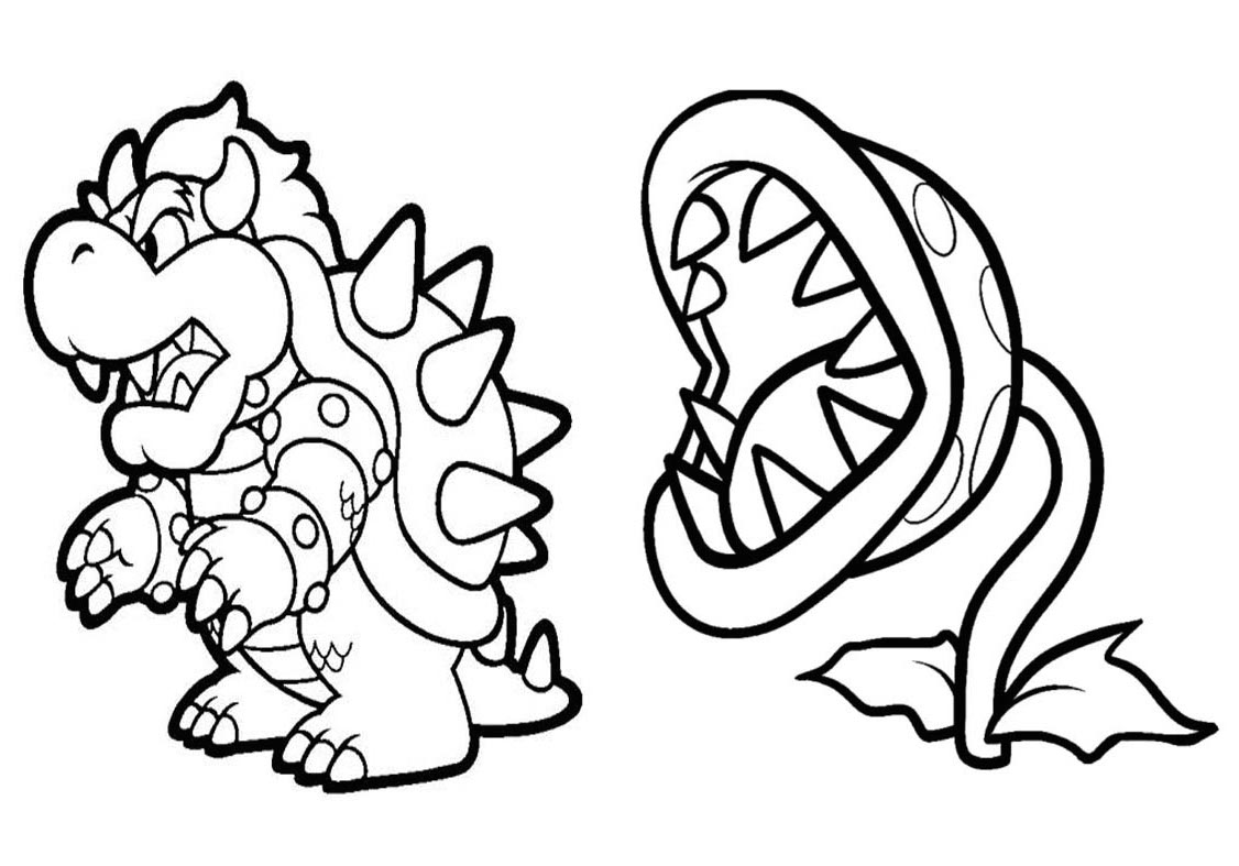 Pin mario para colorir toad do bros super on pinterest - Dibujos de super mario bros ...