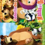 Livrinho para Colorir Masha e o Urso