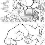 Livrinho para Colorir Masha e o Urso 2