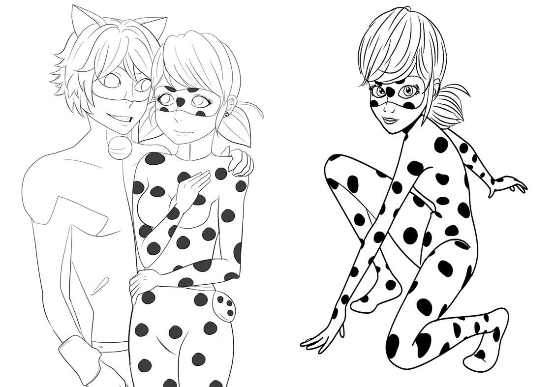 Livrinho para Colorir Miraculous Ladybug 3