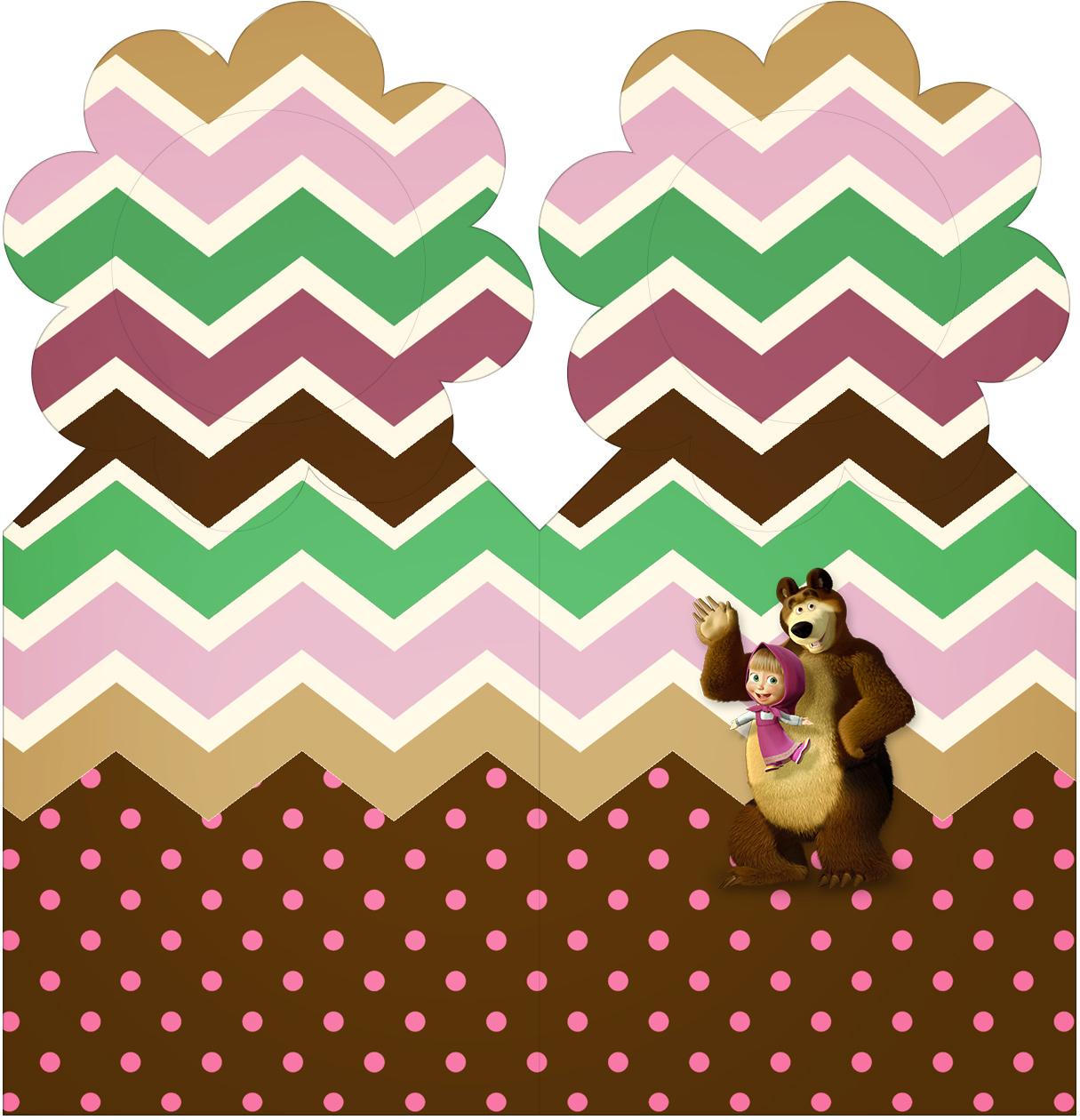 Marcador de Páginas Masha e o Urso Kit