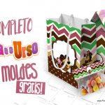 Masha e o Urso Kit Festa Grátis para Imprimir