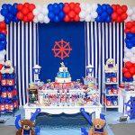 Mesa Festa Infantil Ursinho Marinheiro