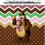 Mini Pastilha Docile Masha e o Urso Kit