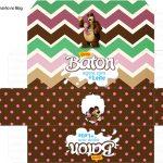 Molde Caixa Baton Masha e o Urso Kit