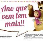 Plaquinhas para festa Masha e o Urso 7