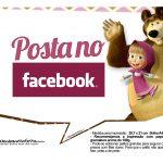 Plaquinhas para fotos Masha e o Urso 13