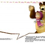Plaquinhas para fotos Masha e o Urso 21