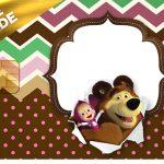 Vale Brinde Masha e o Urso Kit Festa