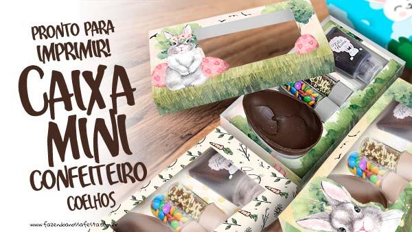 Caixa Kit Confeiteiro para Pascoa