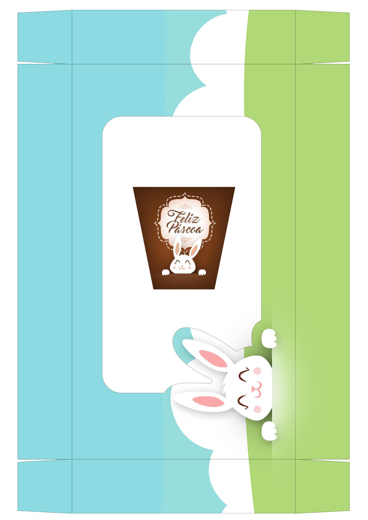 Caixa Kit Mini Confeiteiro para Páscoa 10 - parte de cima