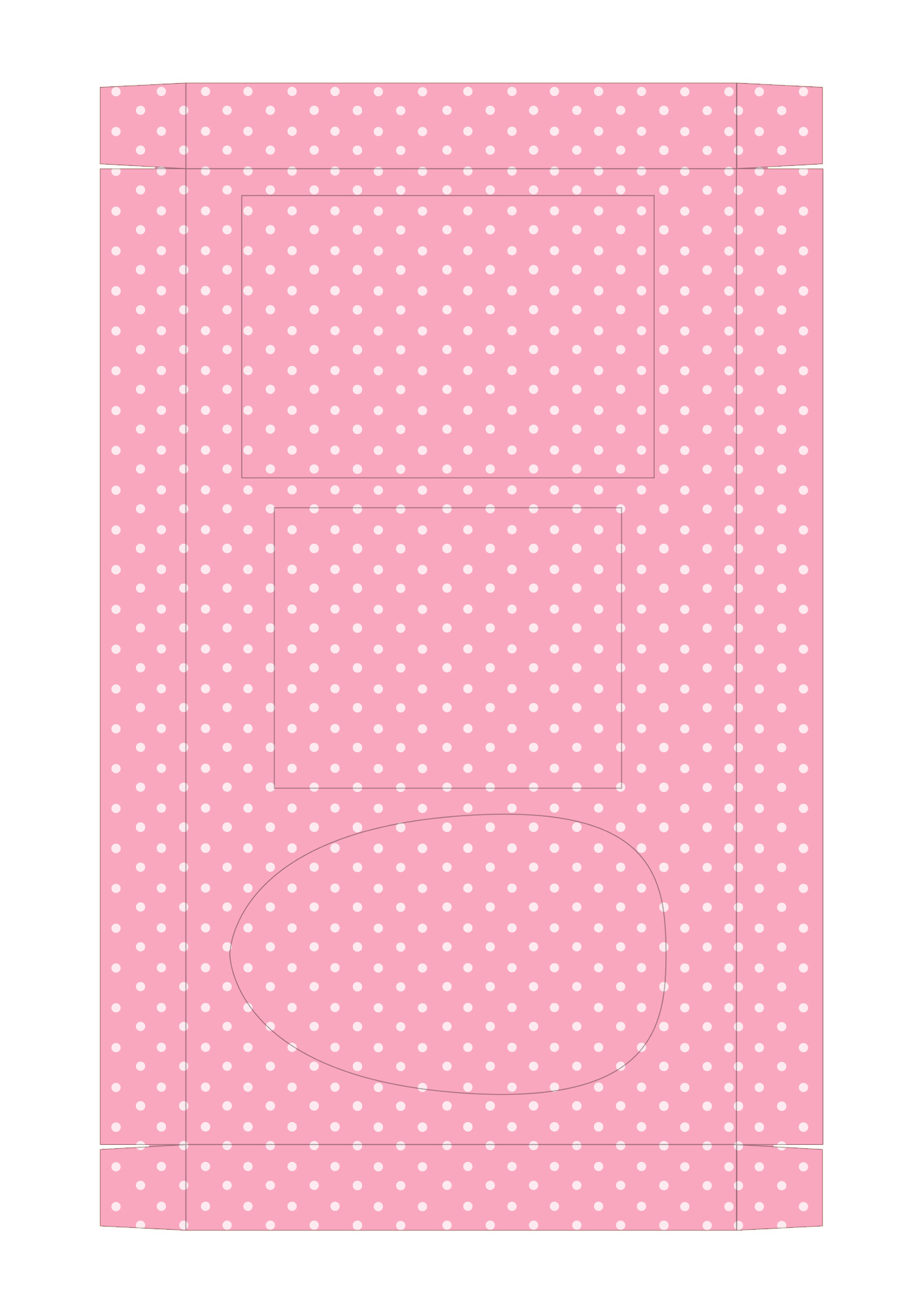 Caixa Kit Mini Confeiteiro para Páscoa 12 - parte de dentro