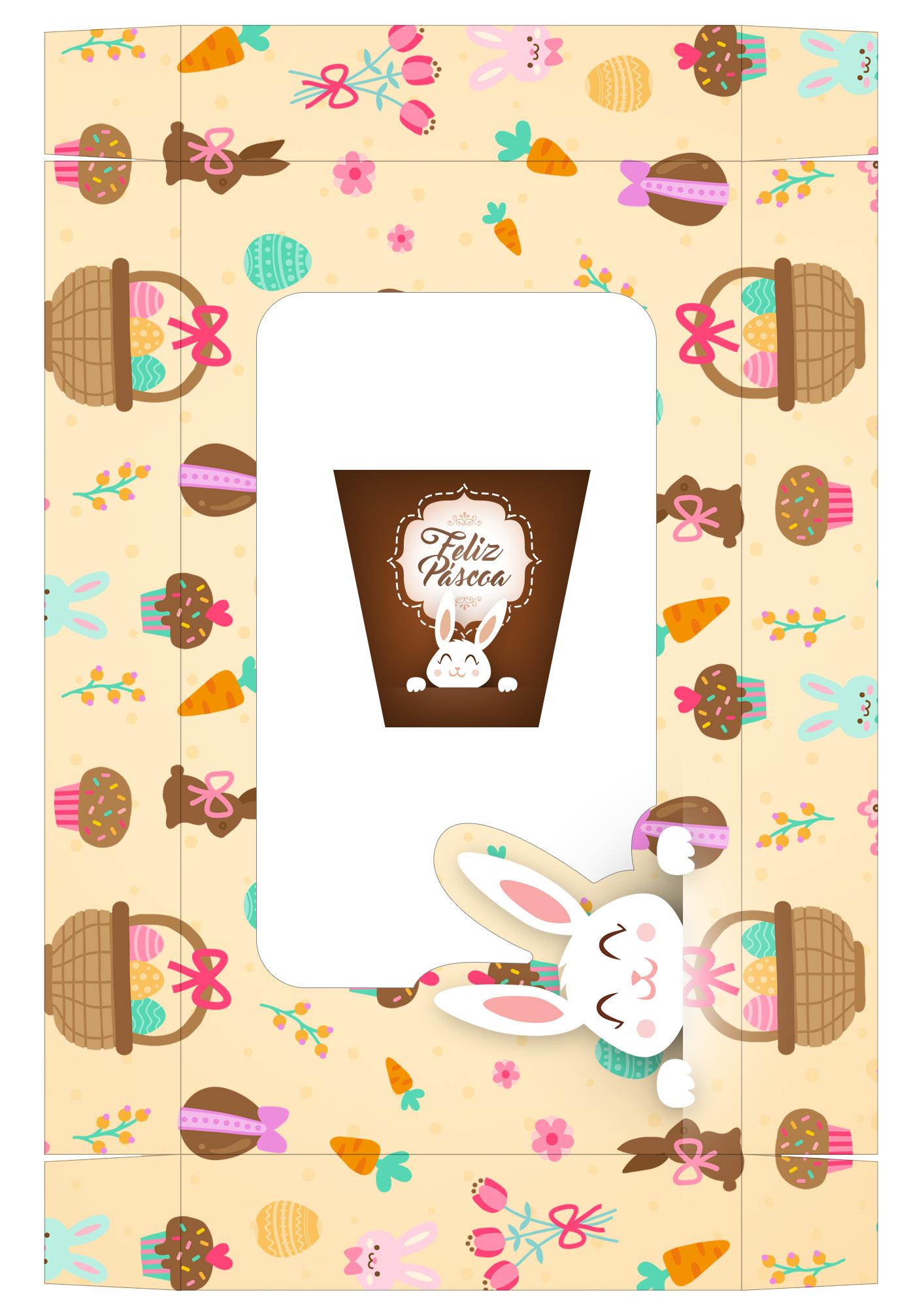 Caixa Kit Confeiteiro para Páscoa 14 - parte de meio