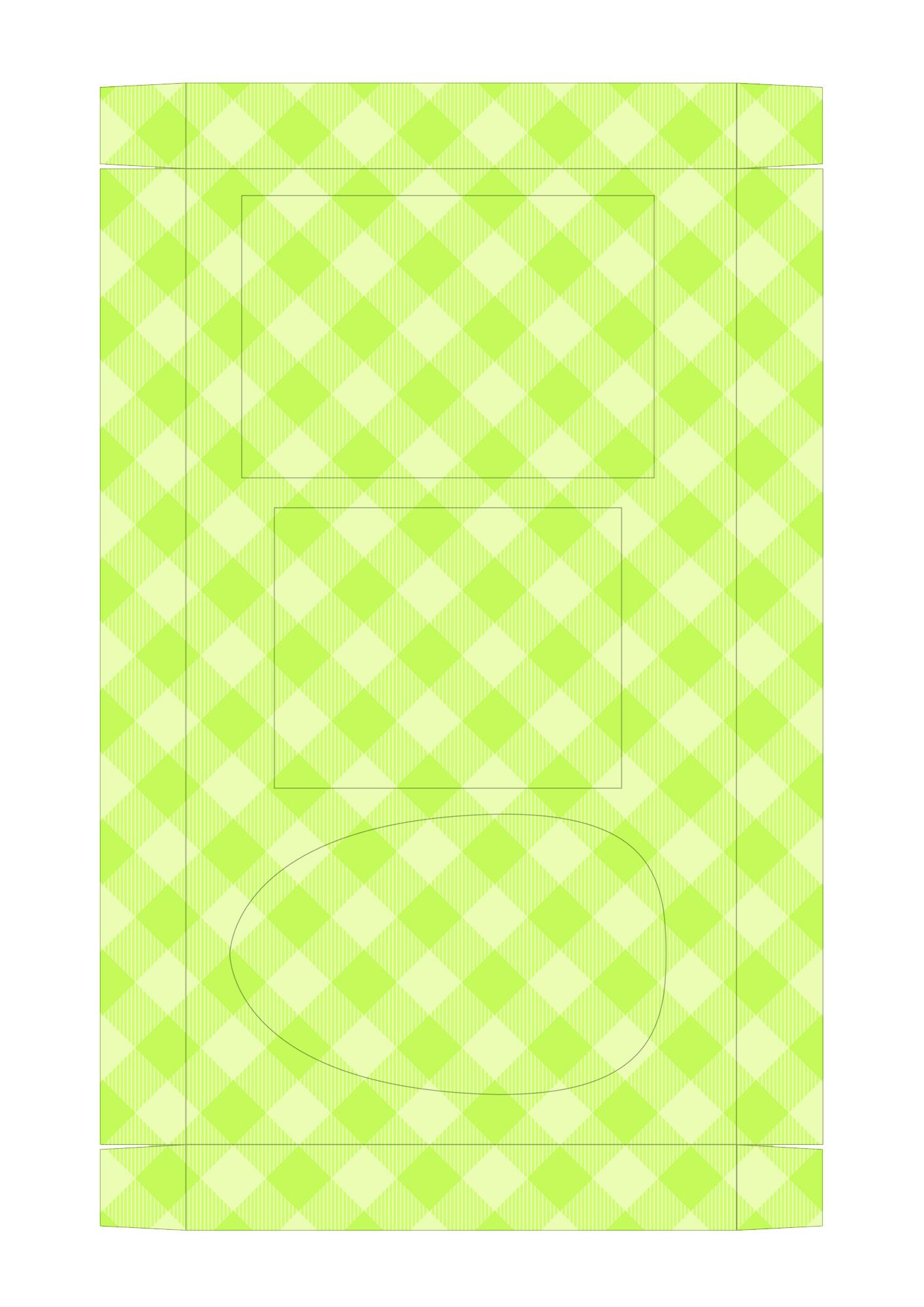 Caixa Kit Confeiteiro para Páscoa 15 - parte de dentro