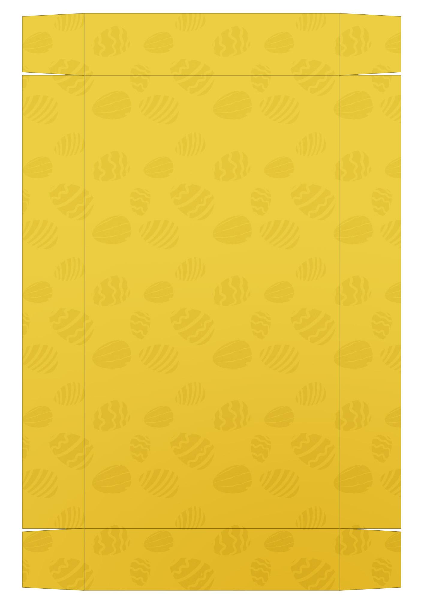 Caixa Kit Mini Confeiteiro para Páscoa 2 - parte de baixo