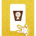 Caixa Kit Mini Confeiteiro para Páscoa 2 - parte de cima