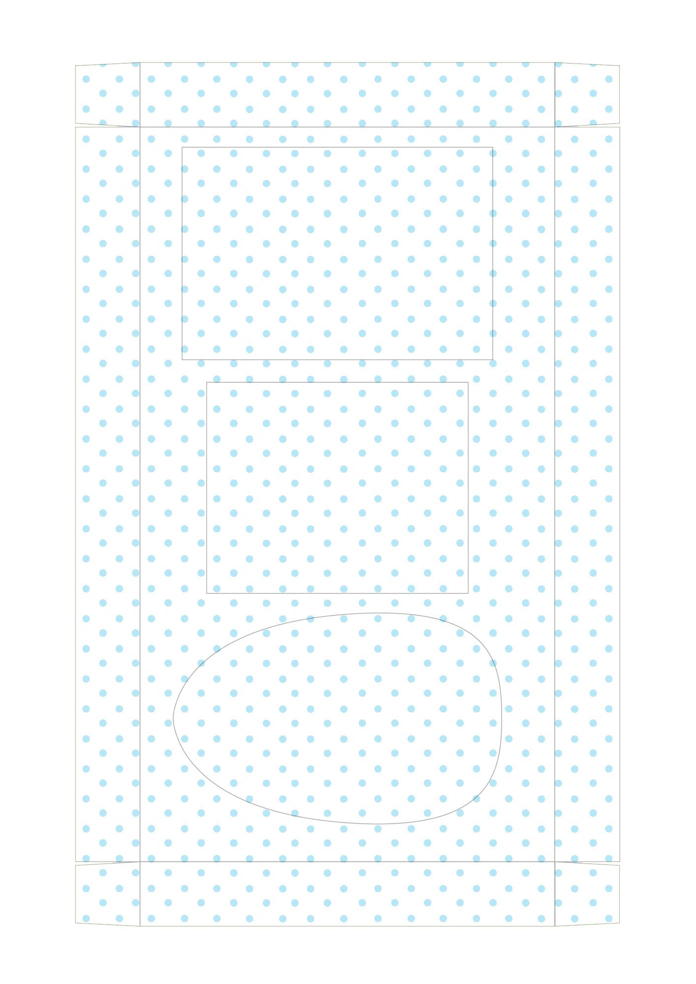 Caixa Kit Mini Confeiteiro para Páscoa 4 - parte de dentro
