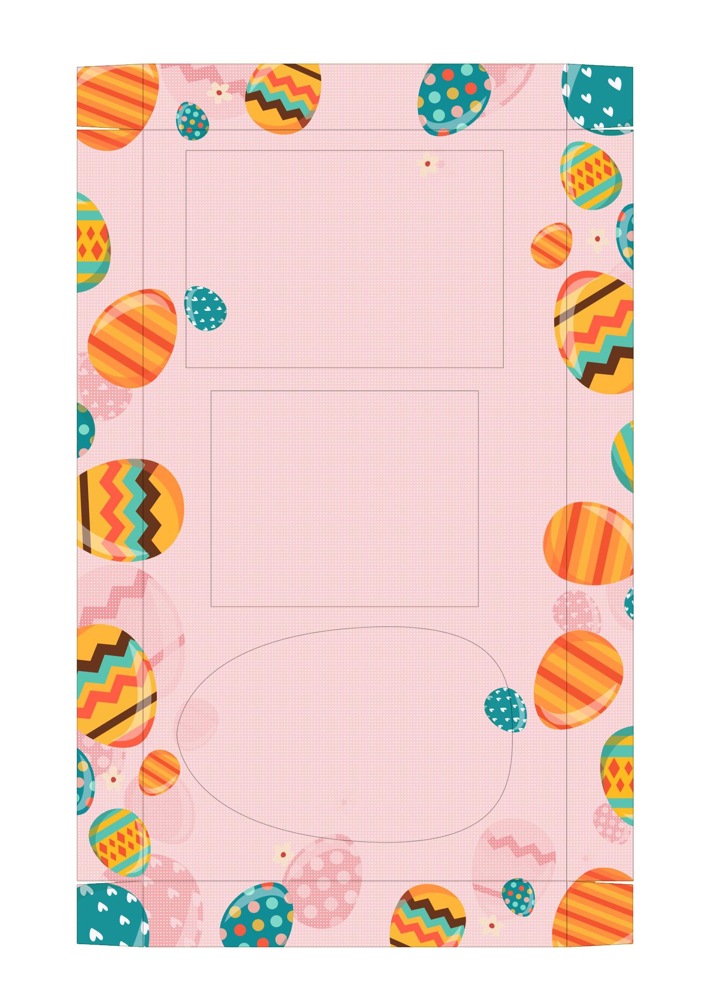 Caixa Kit Mini Confeiteiro para Páscoa 6 - parte de dentro