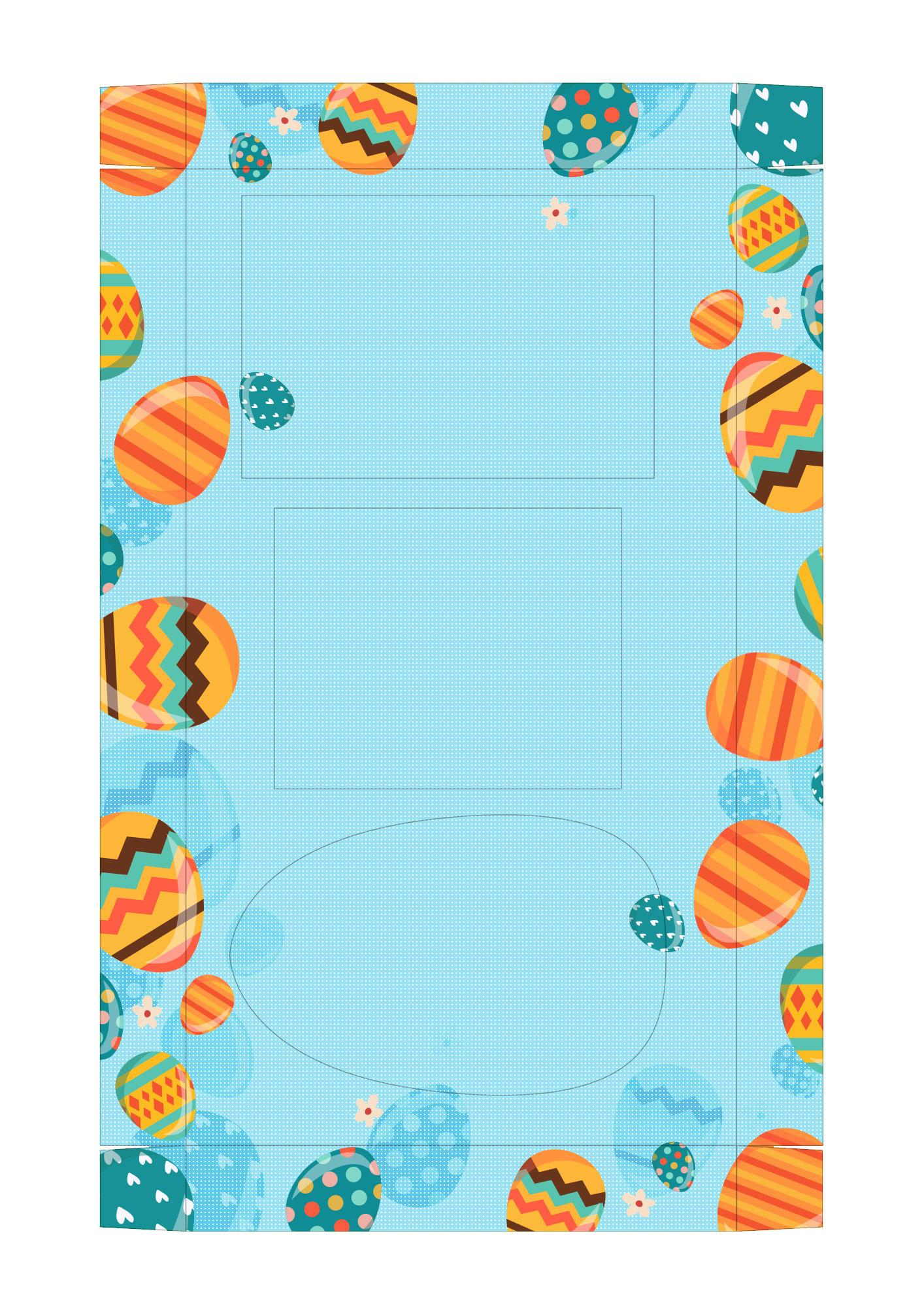 Caixa Kit Mini Confeiteiro para Páscoa 7 - parte de dentro