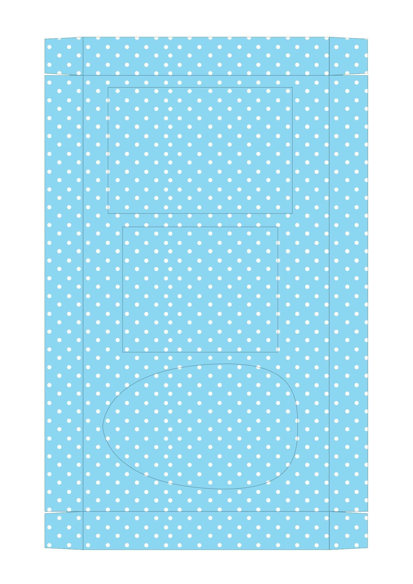 Caixa Kit Mini Confeiteiro para Páscoa 8 - parte de dentro