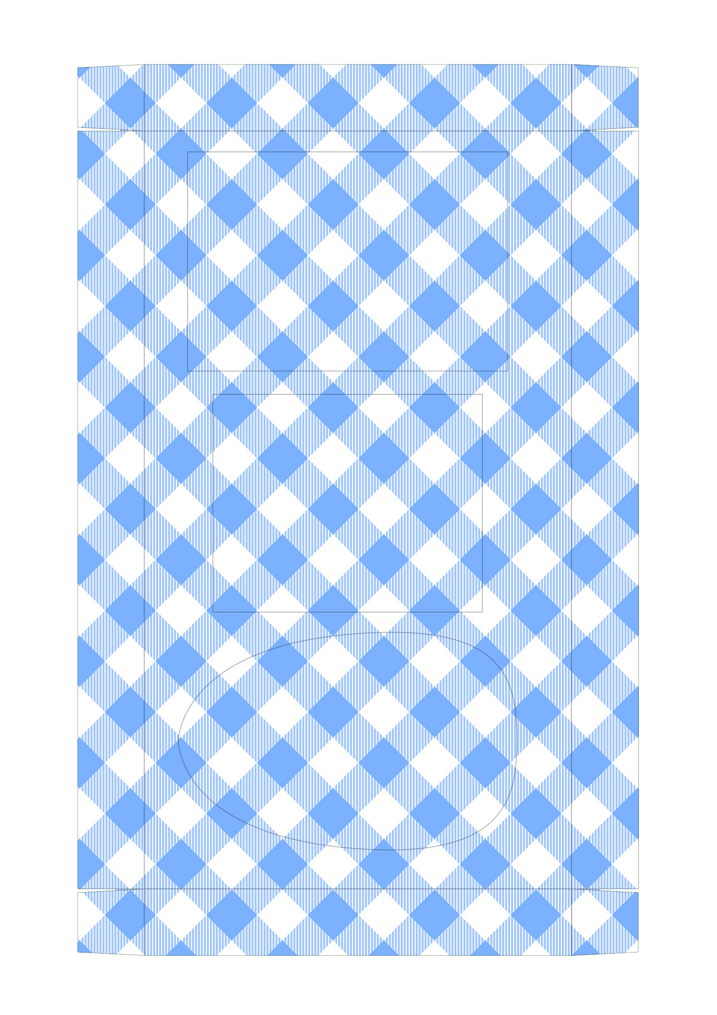 Caixa Kit Mini Confeiteiro para Páscoa 9 - parte de dentro