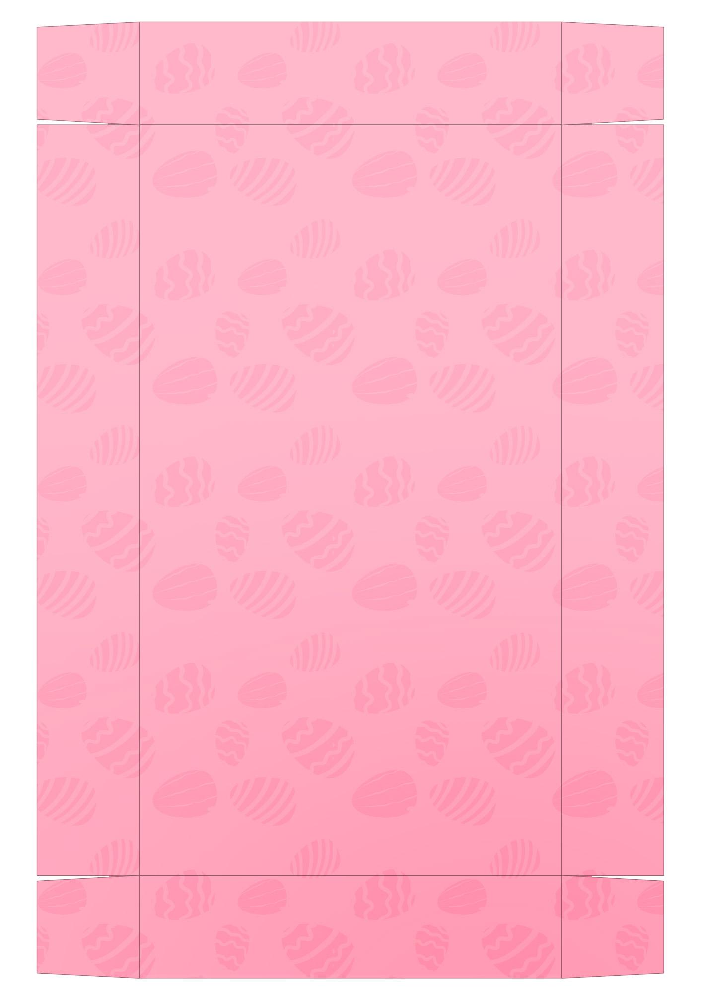 Caixa Kit Mini Confeiteiro para Páscoa - parte de baixo