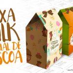 Caixa Milk de Páscoa Grátis para Imprimir