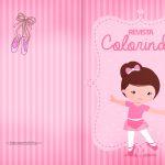 Capa Livrinho de Colorir Bailarina 2