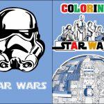 Capa Livrinho para Colorir Star Wars 2