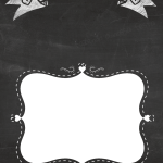 Quadro Chalkboard Dia das Mães Titia