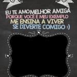 Chalkboard Dia das Mães Titia 3
