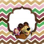 Convite para Festa Masha e o Urso 17